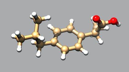 El investigador del Conicet y del Ceprocor Dante Beltramo modificó la molécula del ibuprofeno haciéndola 100% soluble en agua para administrarlo en nebulizaciones (Shutterstock)