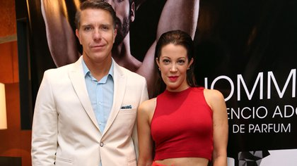 Pasado: Alejandro Fantino y Miriam Lanzoni