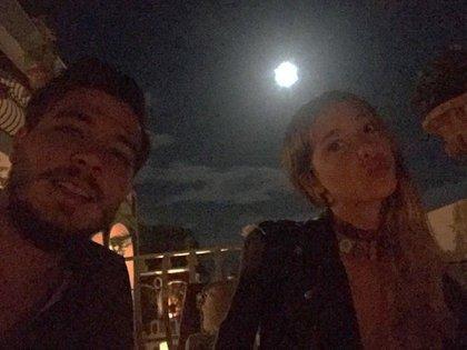 Joaquín Rozas y Lucía Celasco (Instagram)