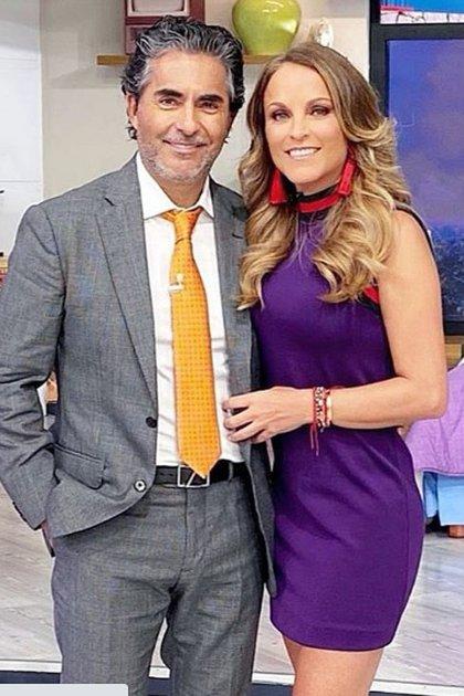 Raúl Araiza y su novia María Amelia Aguilar (IG: negroaraiza)