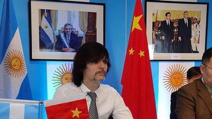El flamante embajador argentino en China, Sabino Vaca Narvaja