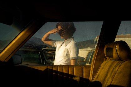"""Car, Window (Self-portrait), from Proceed To The Route"", Tania Franco Klien (La Arte | Argentina + ALMANAQUE | México)"