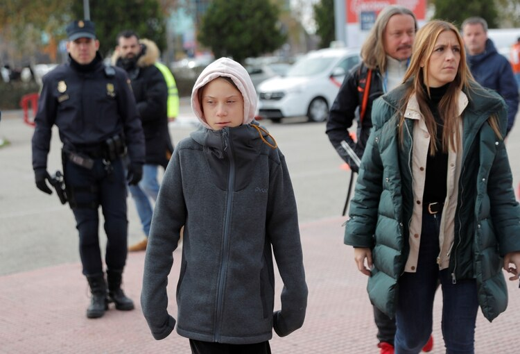 Greta Thunberg en Madrid (REUTERS/Juan Medina)