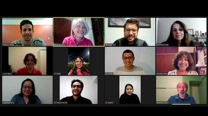 Silvia Goyanes, Ana María Llois, Griselda Polla y Roberto Candal, Patricio Carnelli, Lucas Guz, Belén Parodi y Alicia Vergara Rubio componen el grupo de investigadores
