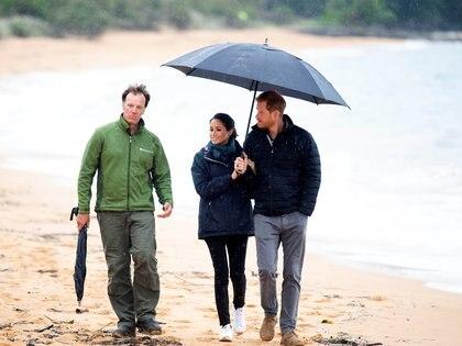 Los duques de Sussex en Nueva Zelanda
