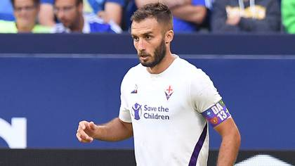 Germán Pezzella es el capitán de Fiorentina (Shutterstock)