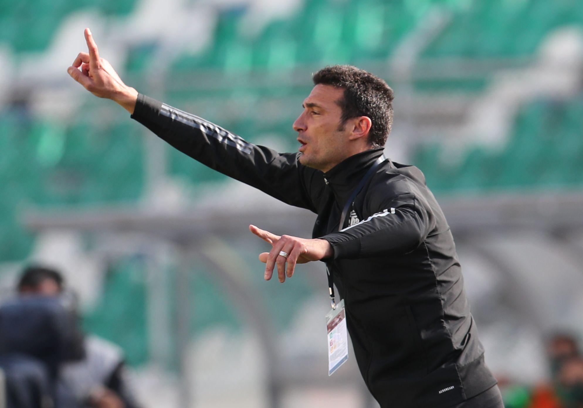 """Scaloni había declarado antes del partido: """"Bolivia de local es de las mejores del mundo"""""""