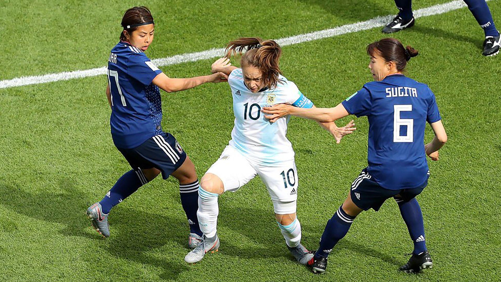 Banini fue figura de Argentina en el Mundial de Francia 2019