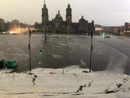 Se esperan lluvias fuertes para este martes en varias partes de la República Mexicana (Foto: Twitter/ @Claudiashein)