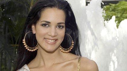 Spear se hizo famosa como Miss Venezuela (AP)