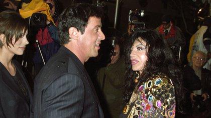 Jackie Stallone, madre de Sylvester Stallone, fue astróloga, bailarina Y promotora de lucha libre femenina. Murió a los 98 años (Shutterstock)