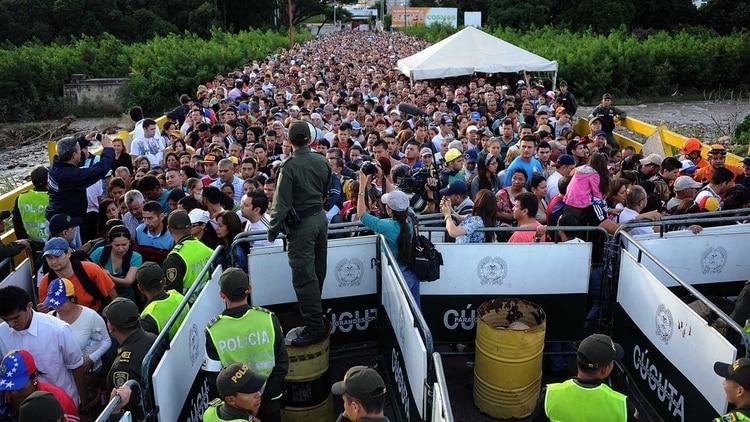 Resultado de imagen para migrantes colombia