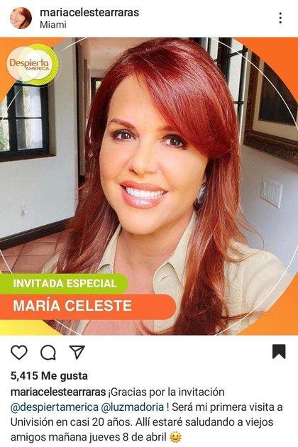 @mariacelestearraras / Instagram