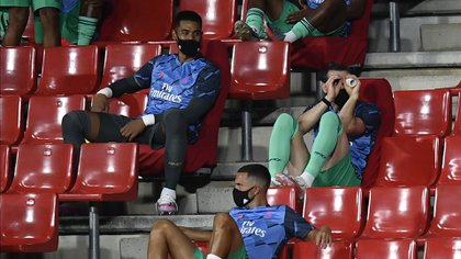 Así vivió el partido Gareth Bale ante el granada (AP)