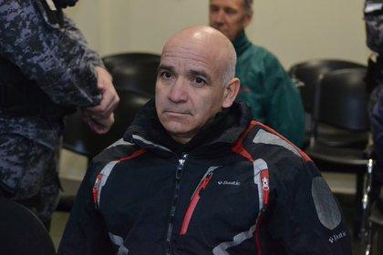 El empleado Armando Gómez, en el banquillo de los acusados (@NacionalMza)