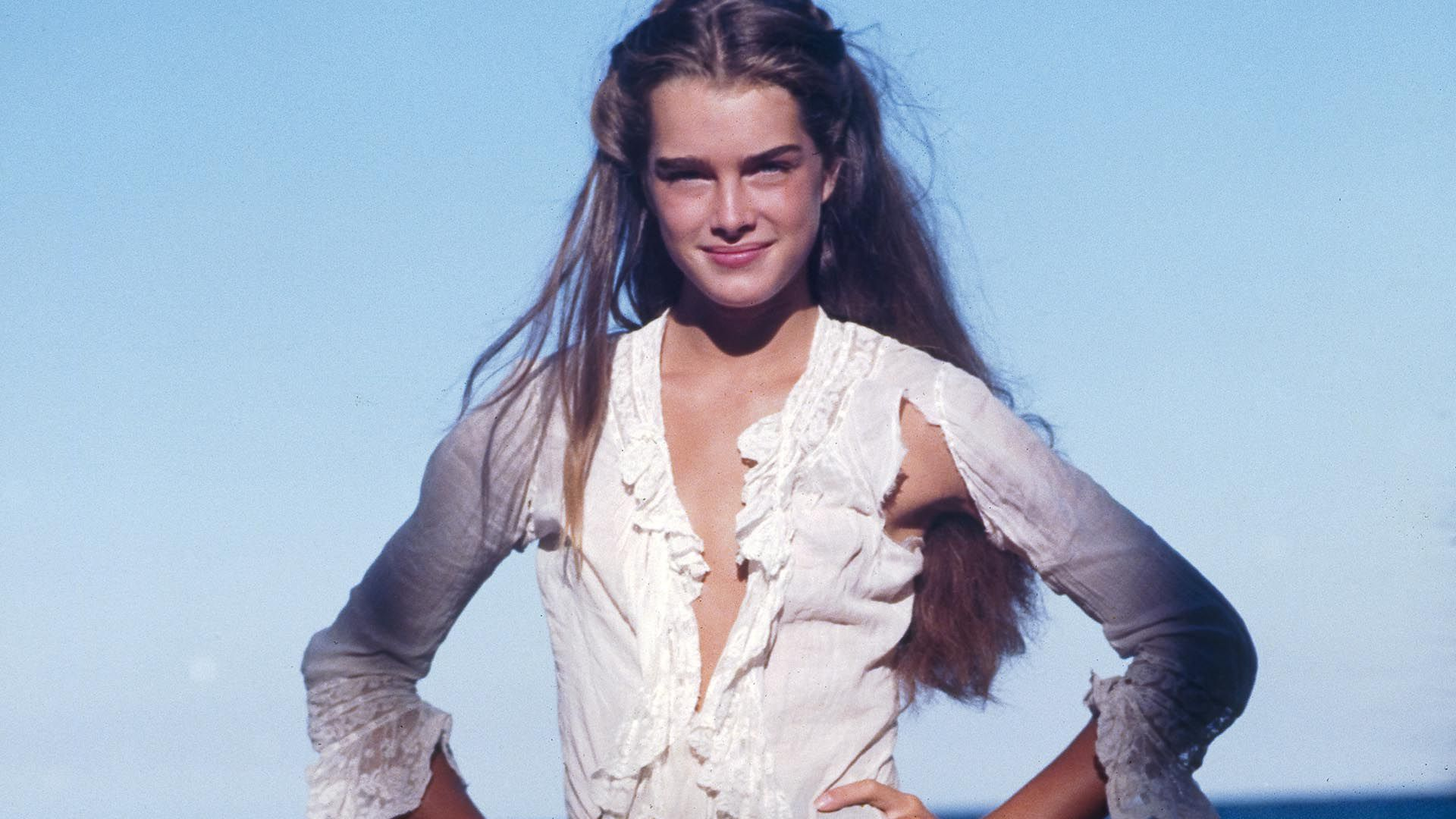 Brooke Shields actuaba desde los once meses (Grosby Group)