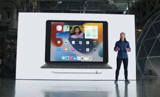 iPad en el Apple event 2021