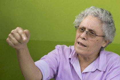 Dora María Téllez, comandante guerrillera, y fundadora del MRS. (Cortesía La Prensa)