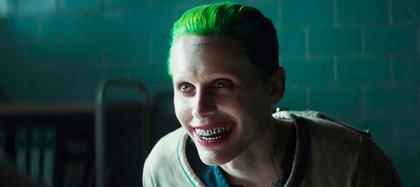 Jared Leto como el Guasón en la película Escuadron Suicida (Warner Bros.)