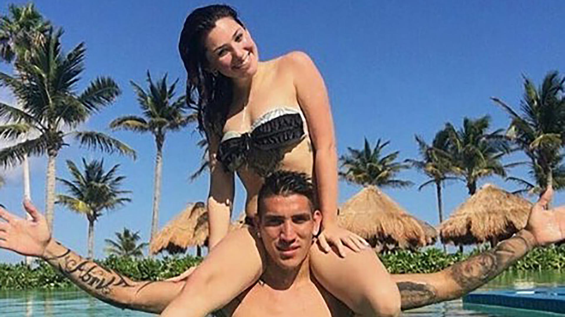 Ricardo Centurión y Melody Pasini llevaban cuatro años de novios (IG: @fc.melpasini)