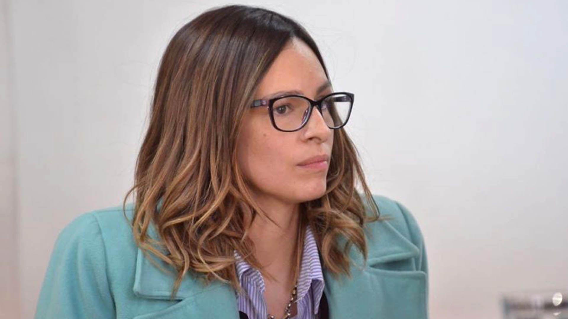 Julieta Silva, durante el juicio por el homicidio cometido contra su novio, el rugbier Genaro Fortunato.