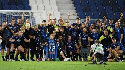El Atalanta alcanzó los cuartos de final tras vencer al Valencia -REUTERS