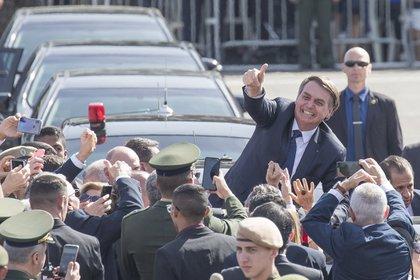 08/10/2020 El presidente de Brasil, Jair Bolsonaro. POLITICA SUDAMÉRICA BRASIL LATINOAMÉRICA INTERNACIONAL O GLOBO / ZUMA PRESS / CONTACTOPHOTO