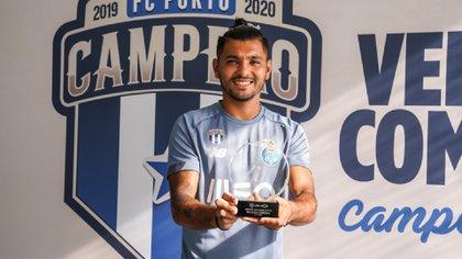 Jesús Corona ha sido dos veces campeón con el Porto (Foto: Twitter/FCPorto)