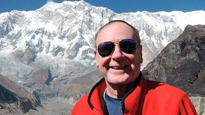 Jack Wheeler, ahora de 76 años, fundó una agencia de viajes de aventura, Wheeler Expeditions