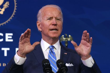 El presidente electo de Estados Unidos, Joe Biden.  (Photo by Alex Wong/Getty Images)