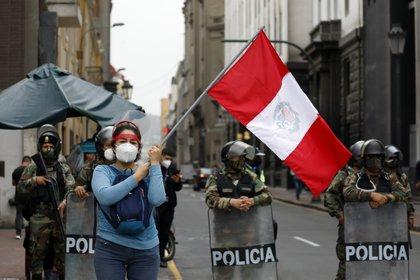 La convulsión política se ha vuelto habitual en las calles de Lima en los últimos años (Europa Press)