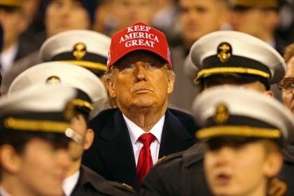 Donald Trump. (Mandatory Credit: Danny Wild-USA TODAY Sports)