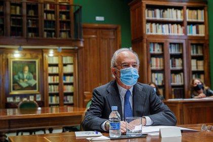 El director de la Real Academia de la Lengua (RAE) y presidente de FundéuRAE, Santiago Muñoz Machado. EFE/Emilio Naranjo/ Archivo