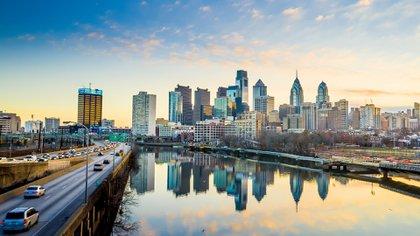 """Popularmente conocida como """"Philly"""", Filadelfia es la sexta ciudad más grande de Estados Unidos (Shutterstock)"""