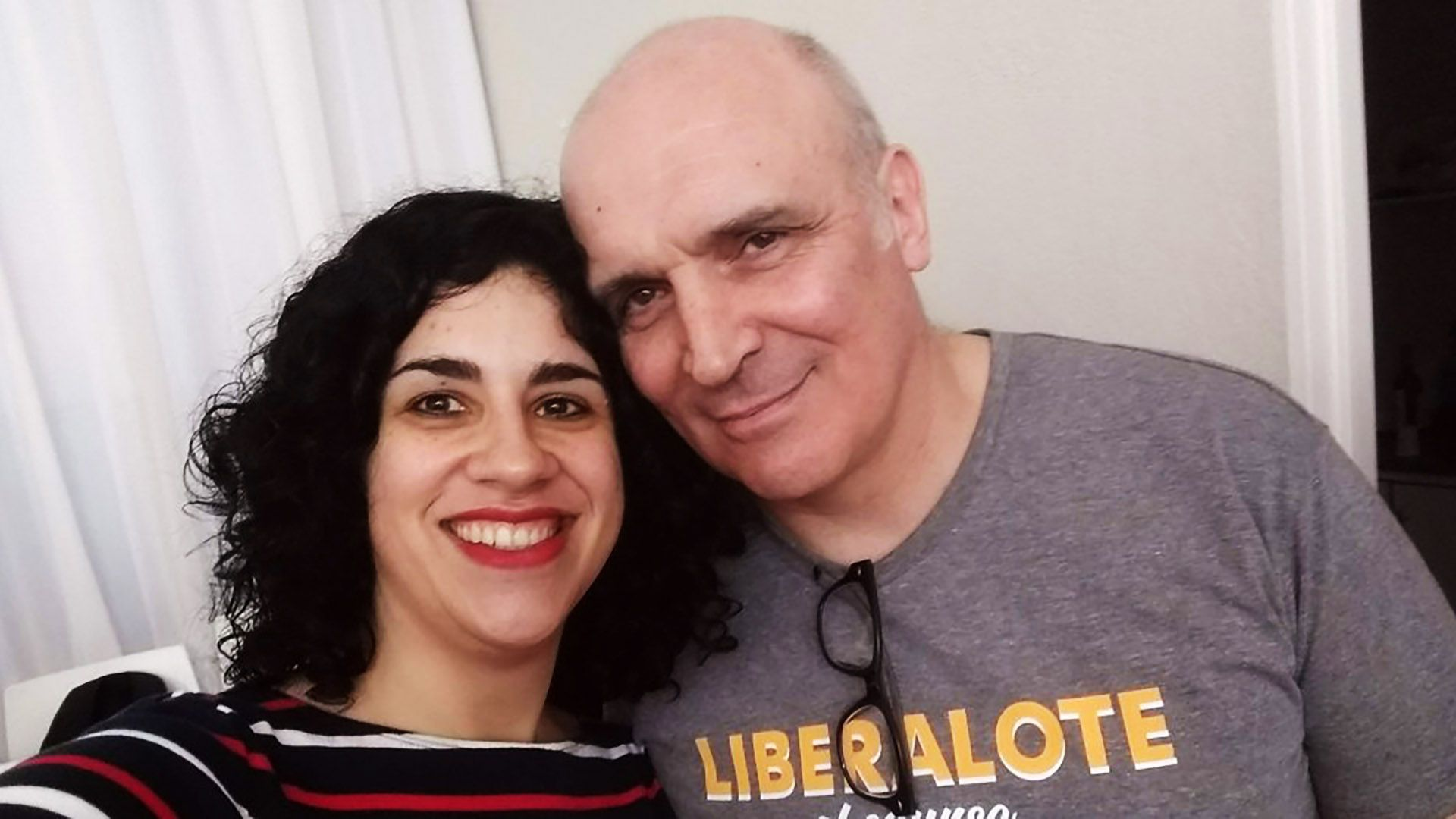 Eliana Scialabba junto a José Luis Espert