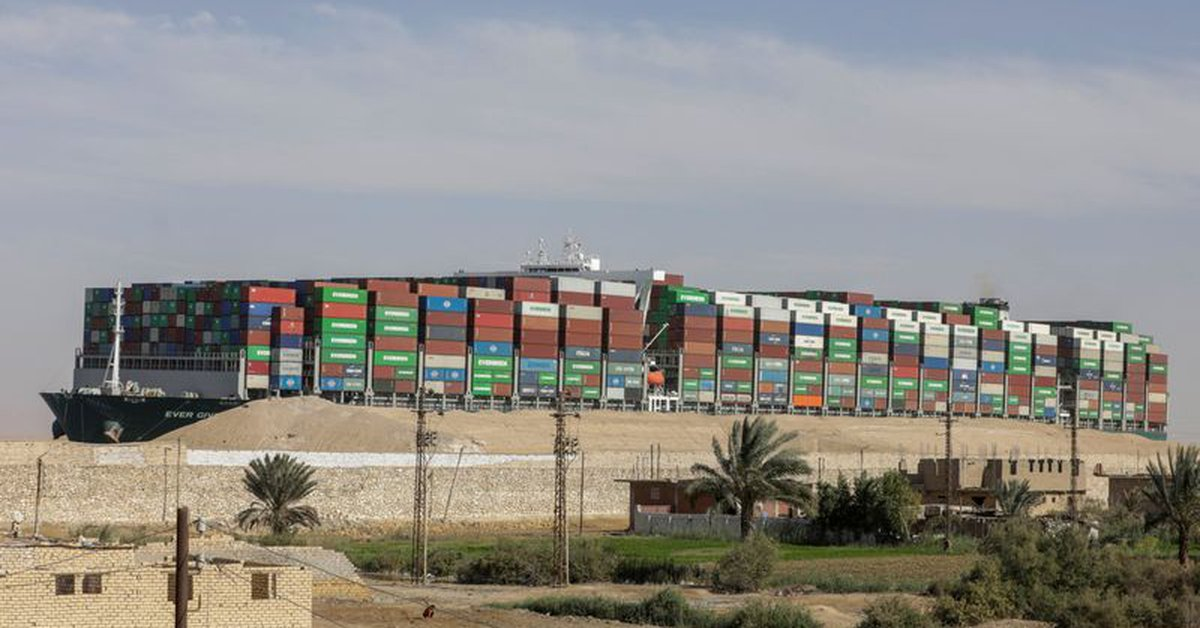 Suez Canal Says Lag Ends Days After Container Ship Release