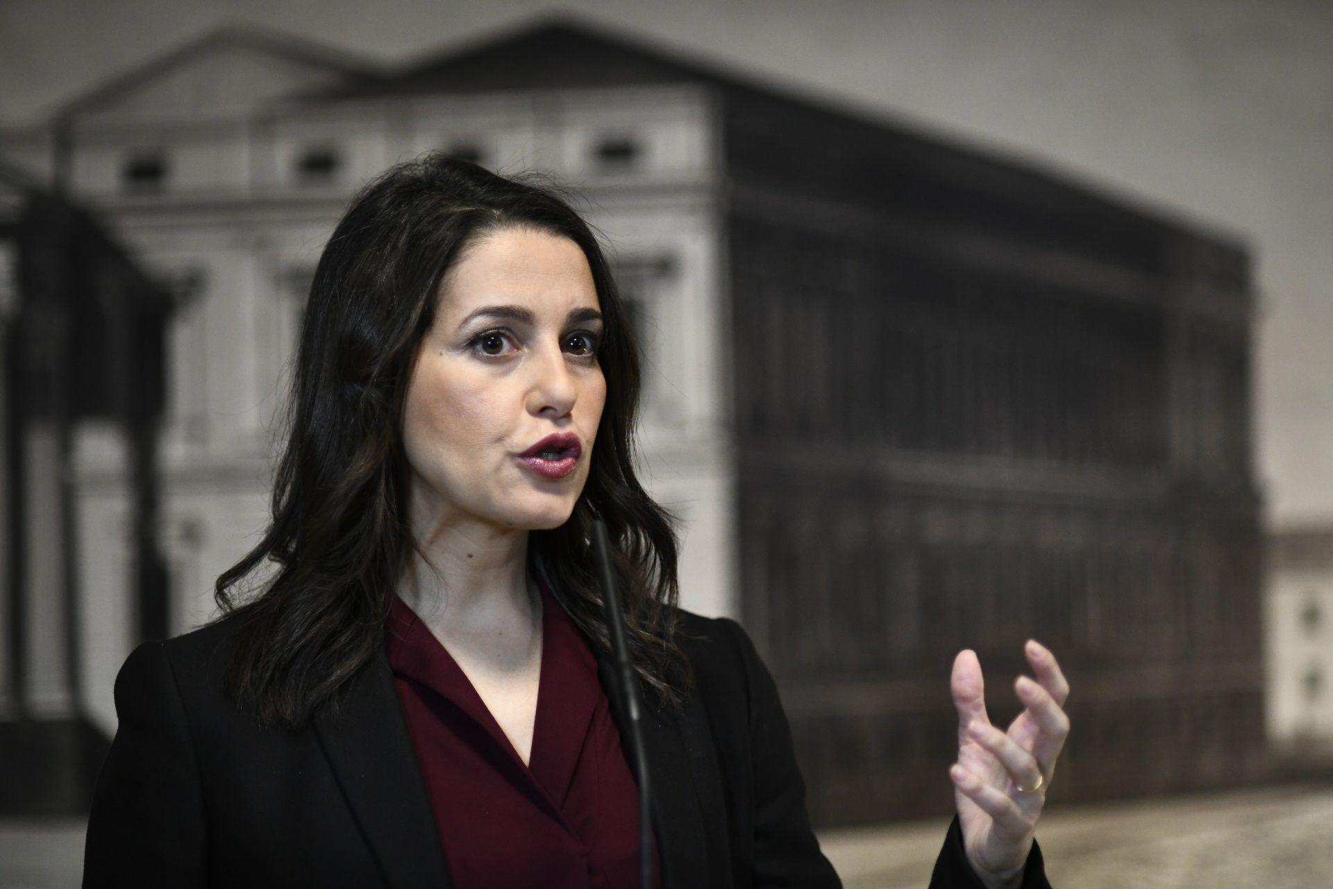 29/11/2019 Inés Arrimadas POLITICA EUROPA ESPAÑA SOCIEDAD ÓSCAR CAÑAS / EUROPA PRESS