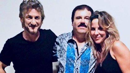 """""""El Chapo"""" Guzmán se reunió con Sean Penn y la actriz mexicana Kate del Castillo. El actor publicó su entrevista en la revista Rolling Stone"""