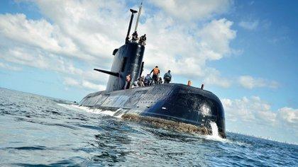 Kapal selam ARA-San Juan (Foto: Angkatan Laut Argentina / Juan Sebastián Lobos)
