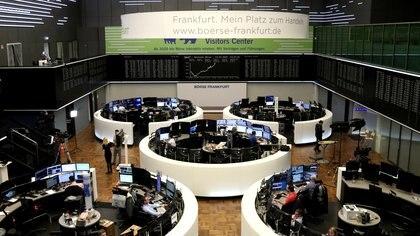 El índice DAX en la bolsa alemana en Frankfurt (REUTERS/Staff)