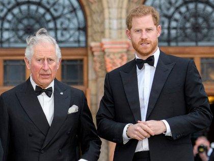 Harry admitió en televisión que tiene una relación tensa con su hermano, el príncipe William, y con su padre (Shutterstock)