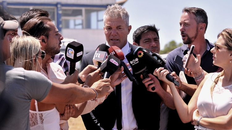 Fernando Burlando asumió la representación de la familia Báez Sosa (Gustavo Gavotti)