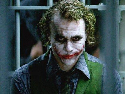 Heath Ledger salió en la pantalla grande en el 2008 en Batman: el caballero de la noche (Foto: Archivo)