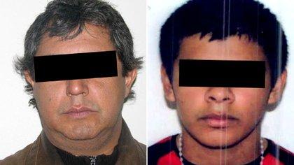 Rodolfo Sánchez, de 51 años, y Leonardo Guerrero, de 25, detenidos este lunes cuando intentaban ingresar a dos edificios de la calle Peña