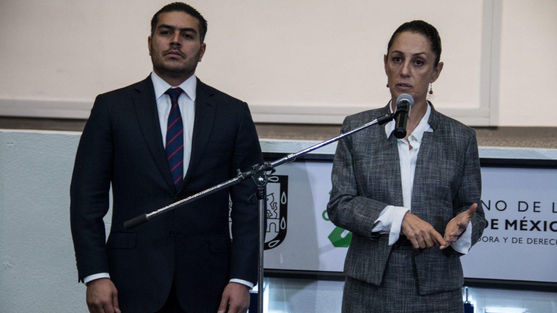 Claudia Sheinbaum y Omar Garcia-cuartoscuro