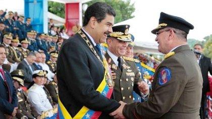 Nicolás Maduro busca mantener el apoyo de la cúpula militar para sostenerse en el poder