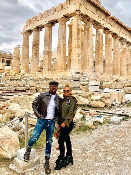 Floyd Mayweather y Anna Monroe llevan juntos hace casi dos años y viajaron a varios lugares del mundo (@thereal.annamonroe)