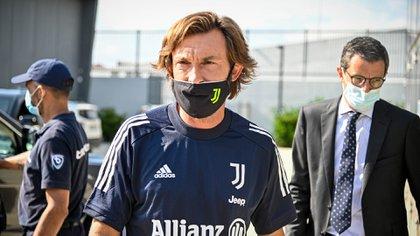 Andrea Pirlo diseña la Juventus 2021 (Shutterstock)