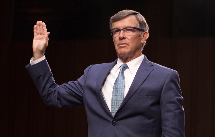 Joseph Maguire, director de Inteligencia de EEUU (Foto de Marcus Tappan/ AFP)