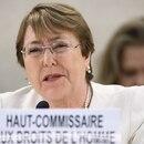Michelle Bachelet, alta comisionada de la ONU para los Derechos Humanos (AFP)